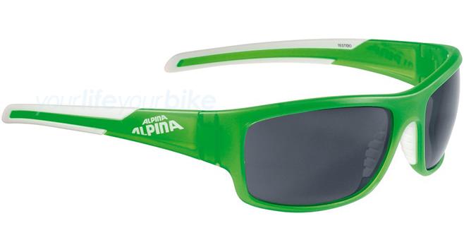 Alpina testido p sportbrille gr n mtb sonnenbrille - Alpina gecko grun ...