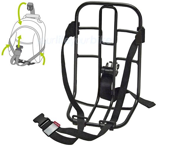 klickfix vario rack gep cktr ger vorn hinten rucksack fahrrad tasche korb front ebay. Black Bedroom Furniture Sets. Home Design Ideas