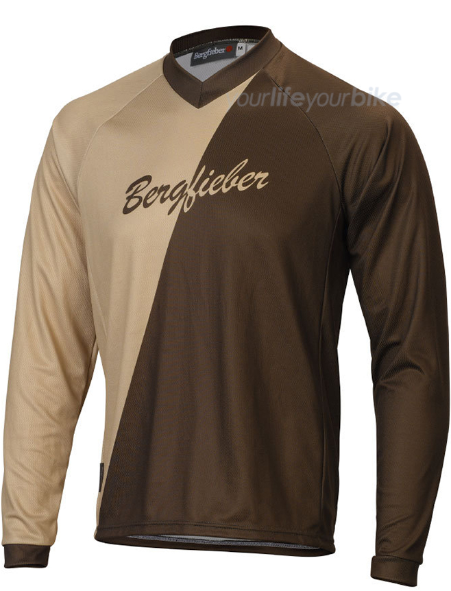 BERGFIEBER SELLA SHIRT LANGARM ALL MOUNTAIN BIKE TRAIL ENDURO E-MTB FAHRRAD MEN