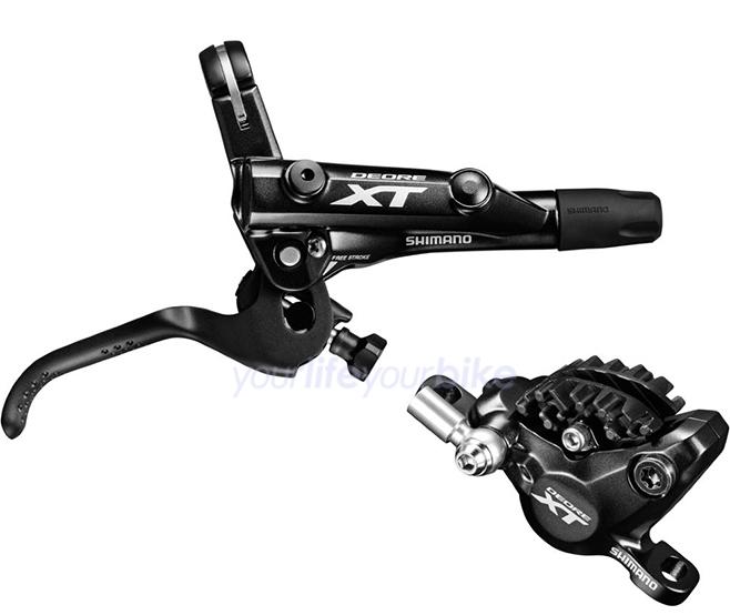 Shimano Deore XT BL-M8000 BR-M8000 hydraulische Scheibenbremse Hinterrad 1700mm
